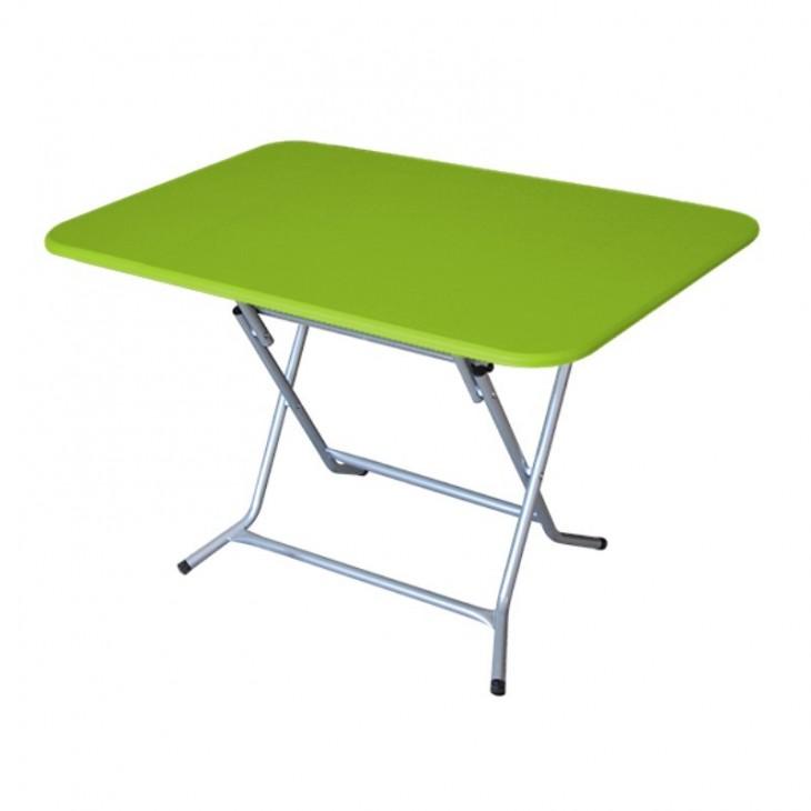 TABLE RECTANGULAIRE PLIANTE PVC PEINT