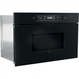 MICRO ONDES + GRILL ENCASTRABLE 22L NOIR WHIRLPOOL