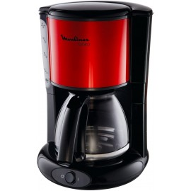 CAFETIERE MOULINEX SUBITO INOX ROUGE