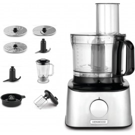 ROBOT MULTIFONCTIONS COMPACT 2,1L 800W INOX KENWOOD